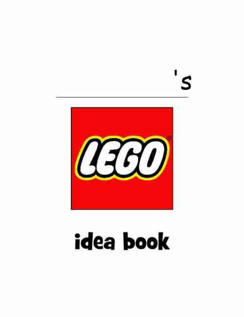 Lego Idea Cover Book
