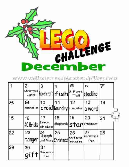 Lego December