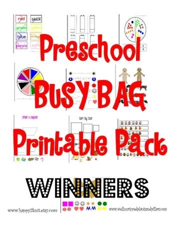 Busy Bag Winner