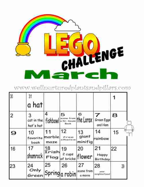 lego challenge march