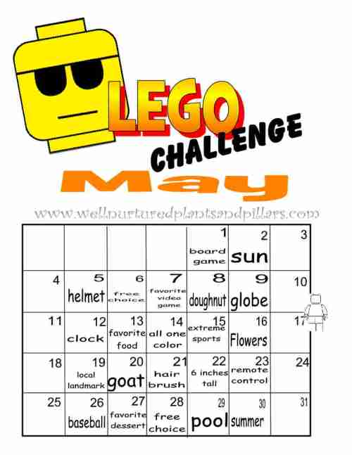 Lego May